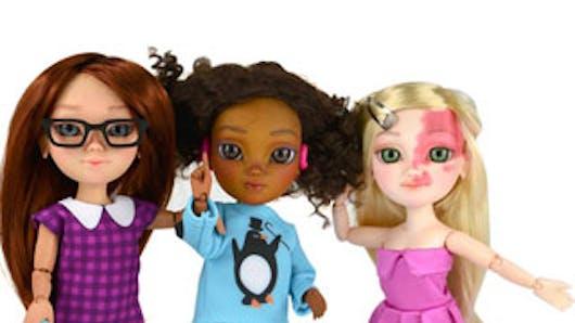 Angleterre : bientôt des poupées pour enfants plus réalistes