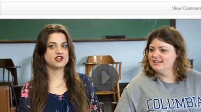 Etats-Unis : deux sœurs séparées à la naissance se   retrouvent par hasard à l'université