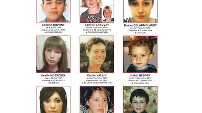 Disparitions d'enfants : 9 portraits affichés dans tous   les commissariats