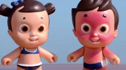 Nivea Doll : des poupées qui attrapent des coups de   soleil