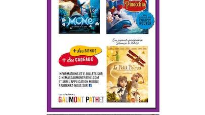 Gaumont Pathé : la Grande Journée des enfants, c'est ce   week-end !