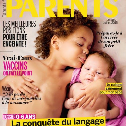Le magazine Parents sort aujourd'hui