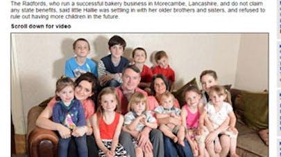 Grande-Bretagne : ils accueillent leur 18e enfant   !