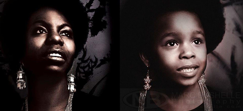 Nina Simone, artiste et militante pour les droits         civiques aux États-Unis