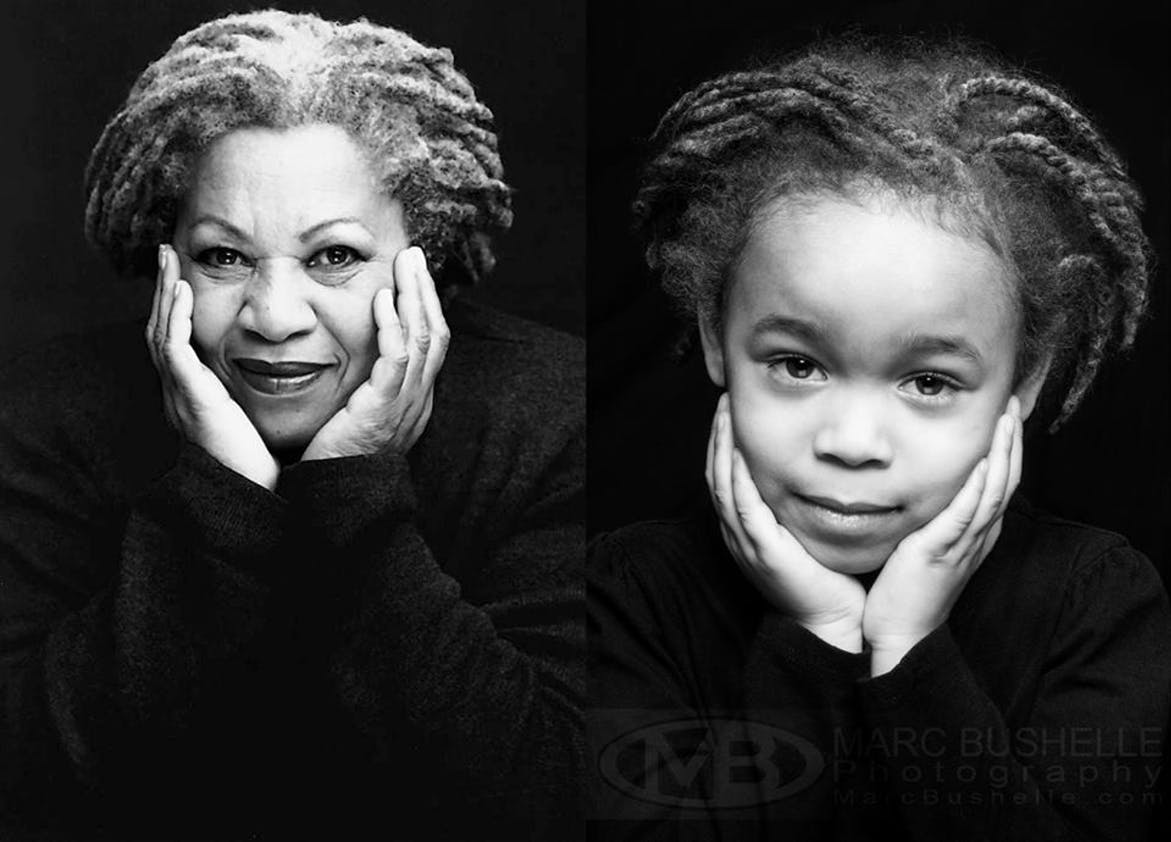 Toni Morrisson première femme noire à remporter un         prix Nobel de littérature