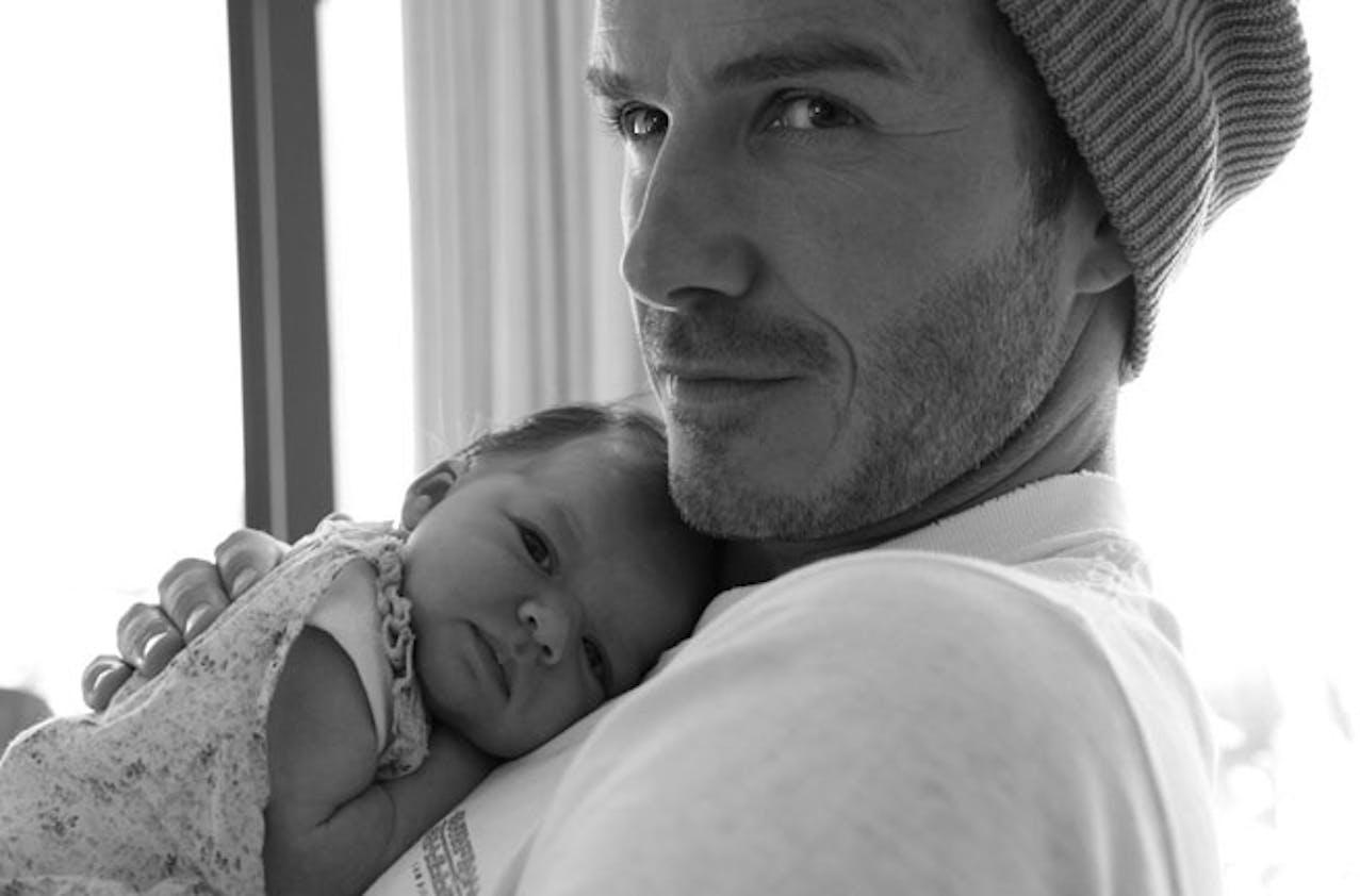 David Beckham avec Harper