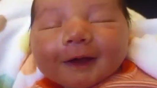 Vidéo : les rires des bébés, on adore !