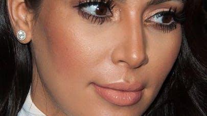 Kim Kardashian dévoile les photos du baptême de   North