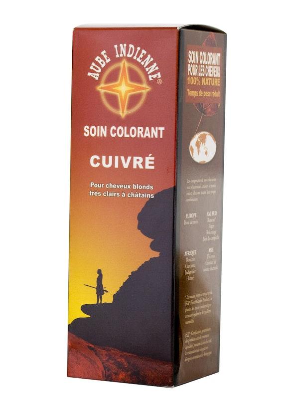 soin colorant 100 vgtal aube indienne terre de couleur 1520 - Coloration Femme Enceinte