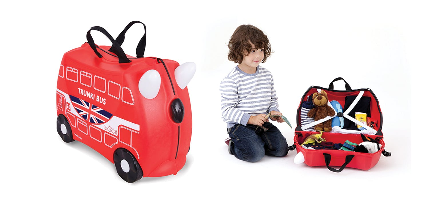 Valise Boris the bus,Trunki