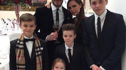David et Victoria Beckham fêtent leurs seize ans de   mariage en famille