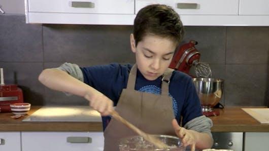 Diaporama : une recette de cookies savoureux à réaliser   avec son enfant