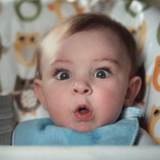 Vidéo : les visages de ces bébés en train de faire leurs   besoins sont tout aussi craquants qu'amusants !