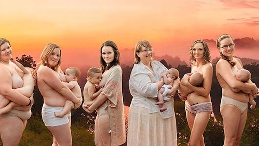 Cette photographe célèbre la beauté des mères qui   allaitent