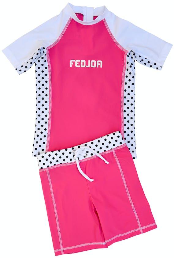 Tee Shirt anti-UV avec short assorti, Fedjoa