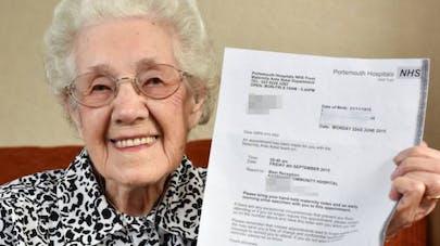 A 99 ans, elle est convoquée à l'hôpital pour une visite   prénatale