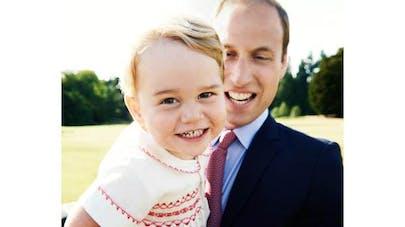 Le prince George fête ses 2 ans