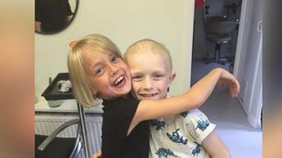 Angleterre : une fillette donne ses cheveux pour une   association d'enfants malades