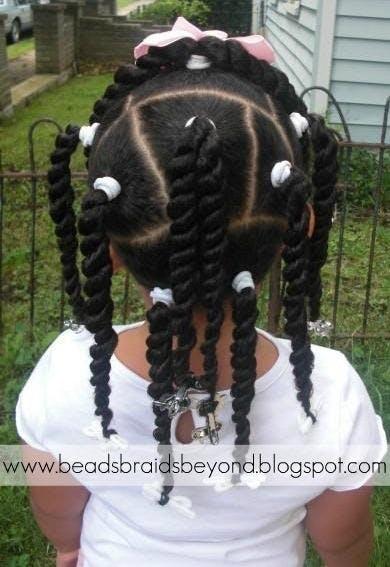 photos   15 coiffures de petite fille pour cheveux cr u00e9pus