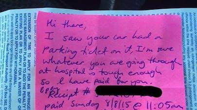 Australie : une inconnue paie l'amende de parking d'une   maman