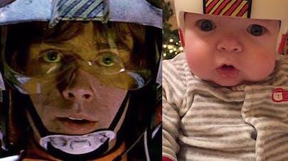 Il crée des casques Star Wars pour son fils opéré d'une   craniosténose