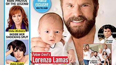 Lorenzo Lamas : son petit-fils, porté par sa femme, est né   !
