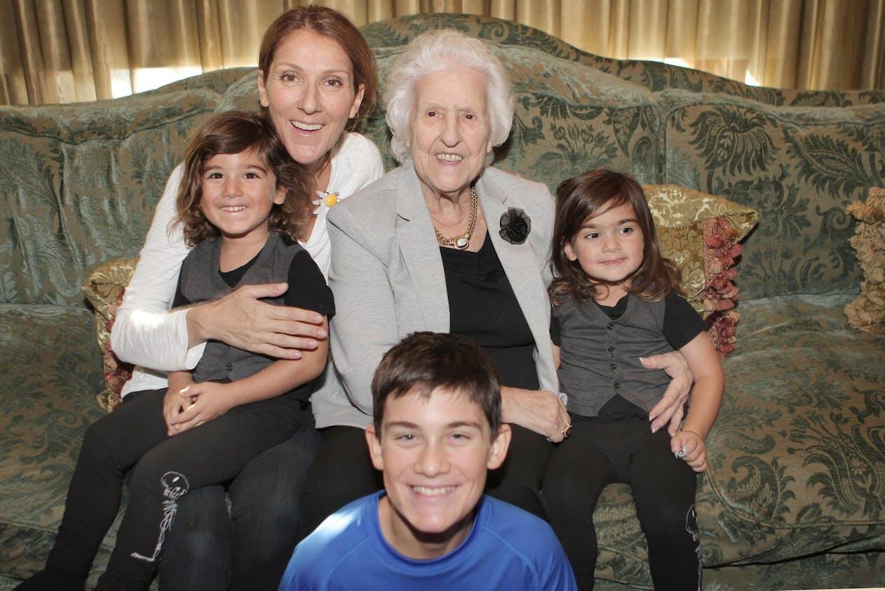 Les enfants de Céline Dion