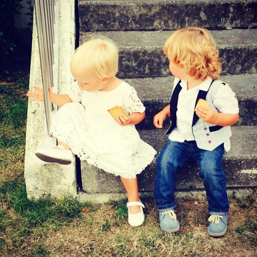 Les jumeaux d'Elodie Gossuin