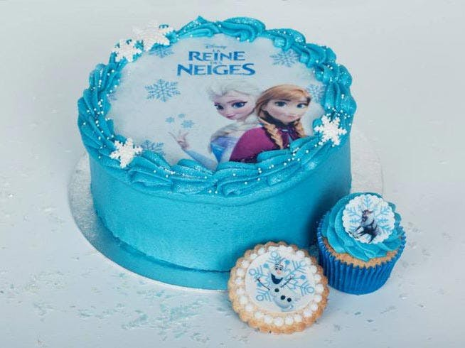 La Reine des Neiges : les plus beaux gâteaux repérés sur   Pinterest