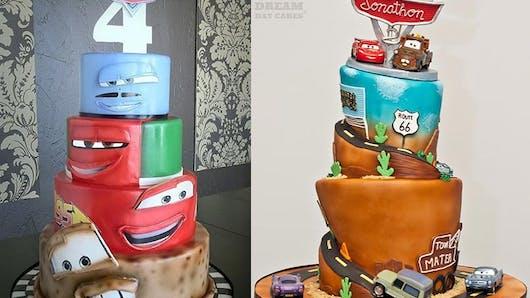 Cars®: 20 gâteaux d'anniversaire insolites