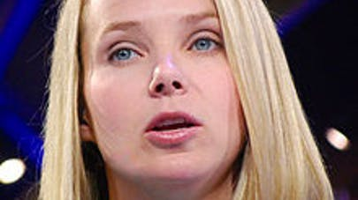 Enceinte de jumelles, Marissa Mayer, la patronne de Yahoo,  ne s'arrêtera pas de travailler