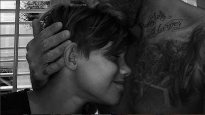 David Beckham : une photo pleine de tendresse pour les 13   ans de son fils Roméo sur Instagram !