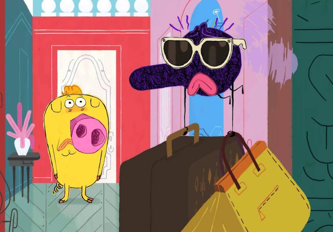 Rentr e 2014 les nouveaux dessins anim s pour enfants - Hubert et takako ...