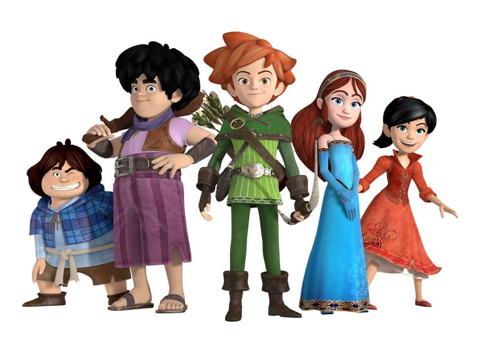 rentr u00e9e 2014   les nouveaux dessins anim u00e9s pour enfants