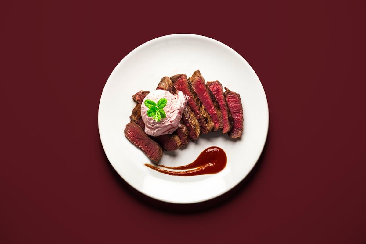 Steak à la glace