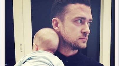 Justin Timberlake dévoile de nouvelles photos de son   fils
