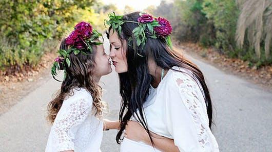 De magnifiques photos mère/fille
