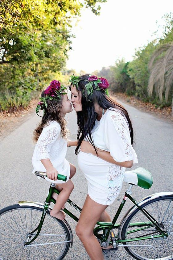 Mère et fille fusionelles