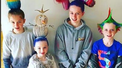 Crazy Hair Day : la journée des coiffures folles pour   enfants