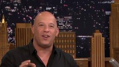 Vin Diesel : l'acteur fond complétement devant le texto   que lui a envoyé sa fille