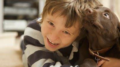 Cancer : la thérapie canine apaise les enfants