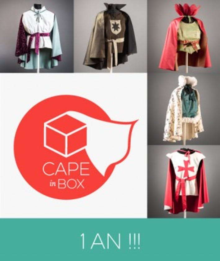 Cape in box