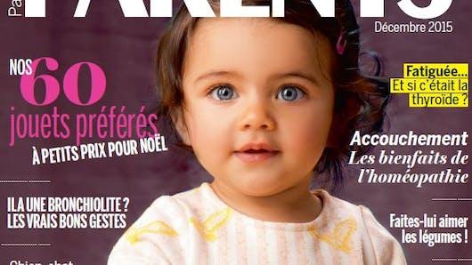 Le nouveau magazine Parents arrive aujourd'hui en kiosque  !