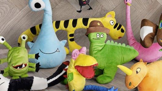Ikea et Unicef : des dessins d'enfants transformés en   peluches !