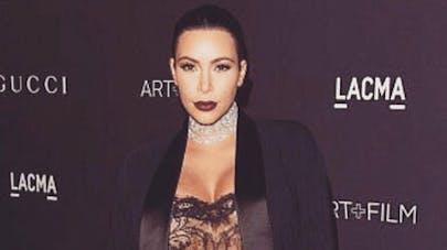 Kim Kardashian dévoile sa prise de poids à 8 mois de   grossesse