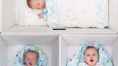 Faire dormir les bébés dans un carton pour diminuer la  mortalité infantile