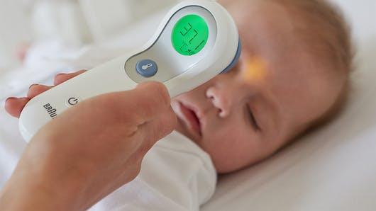 L'interêt du thermomètre sans contact ou frontal