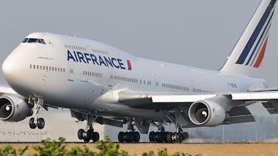 Une naissance insolite à bord d'un vol Air France