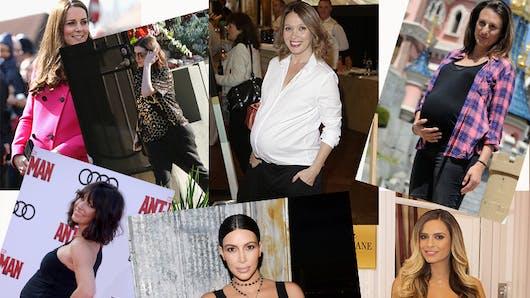 People : le top 15 des plus belles femmes enceintes en  2015