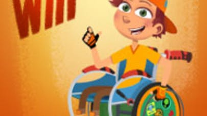 Dessin animé : une campagne de financement participatif   pour Will, le petit garçon en fauteuil roulant
